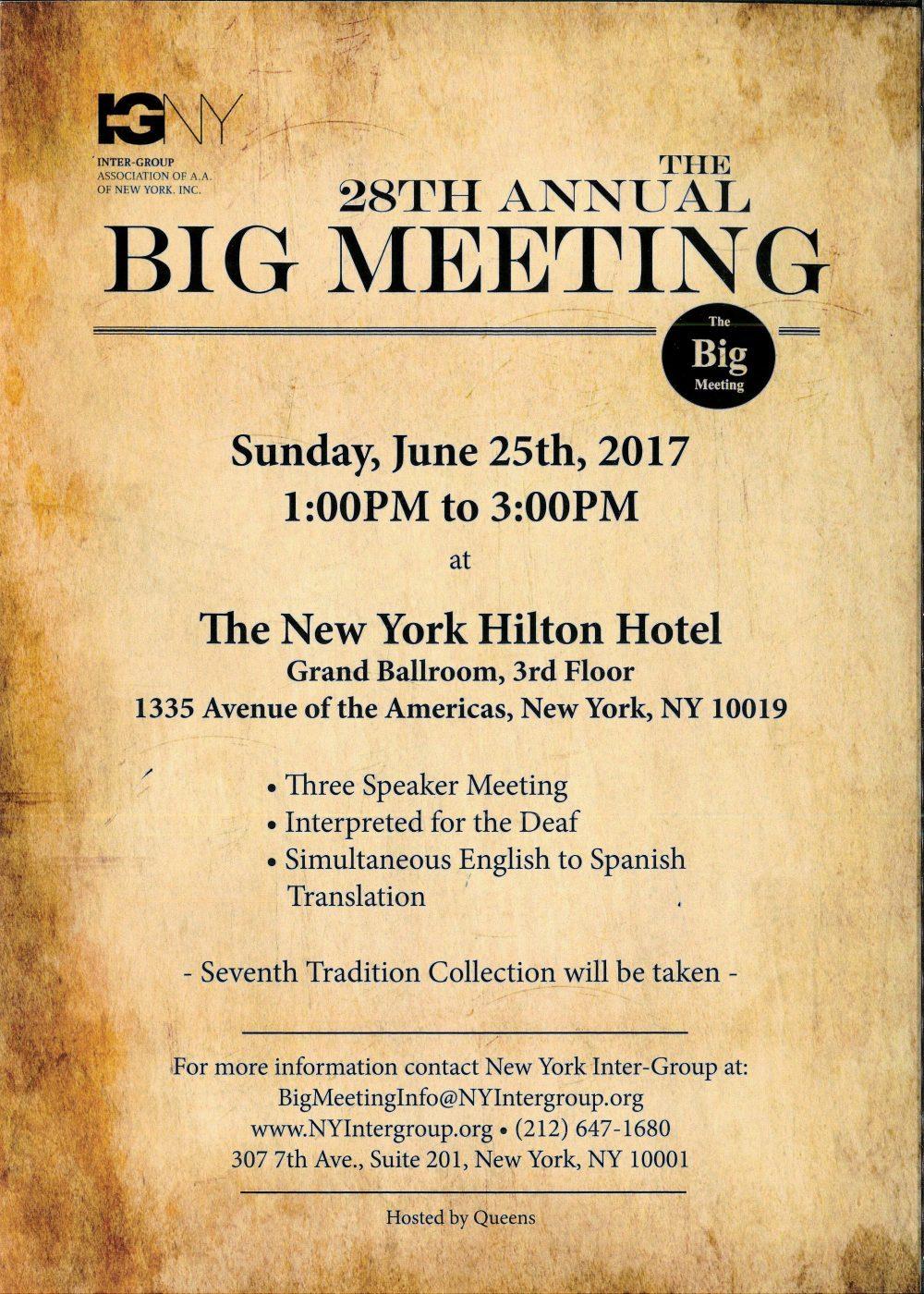 nyintergroup Big Meeting Walk-Thru – NYIG